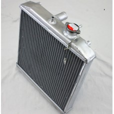 1992-2000 Honda Civic Dual Core Half Sized Radiator